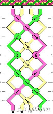 Схема фенечки 17711