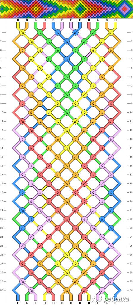 Схема фенечки 17432