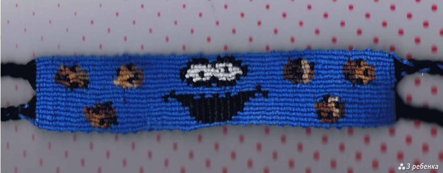 Фото схем фенечек прямого плетения