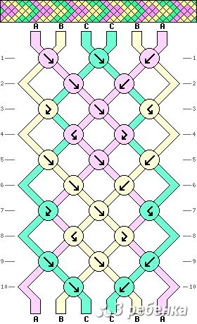 Схема фенечки 17417