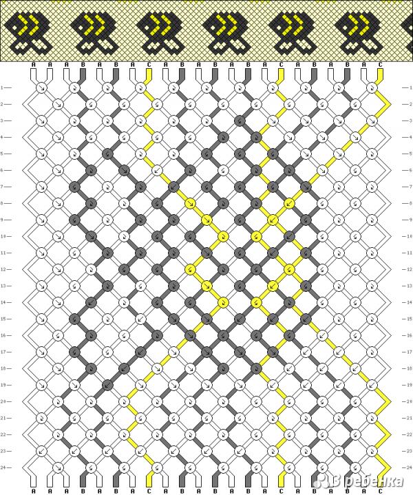 Схема фенечки 17614