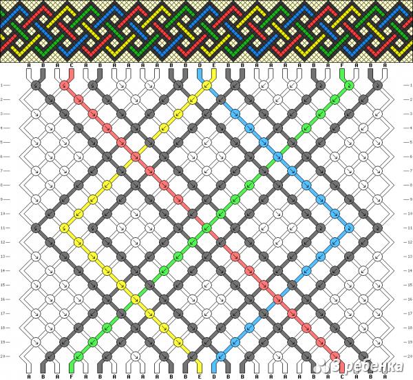 Схема фенечки 17469