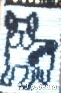 Схема фенечки прямым плетением 17950