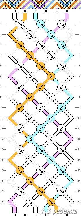 Схема фенечки 17716