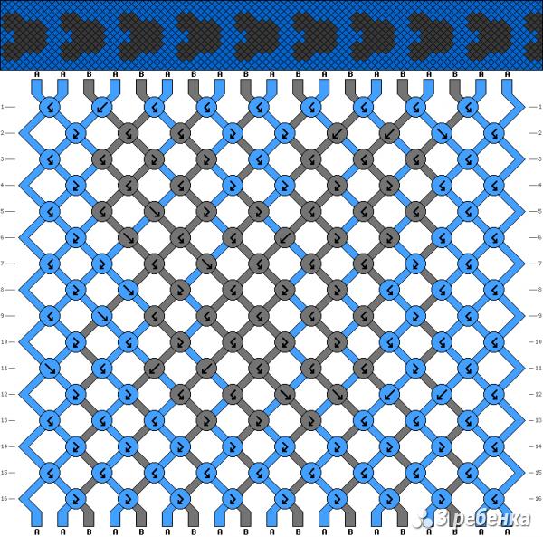 Схема фенечки 17874