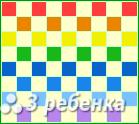Схема фенечки прямым плетением 17962