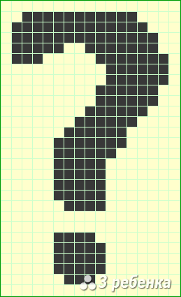 Схема фенечки прямым плетением 17857