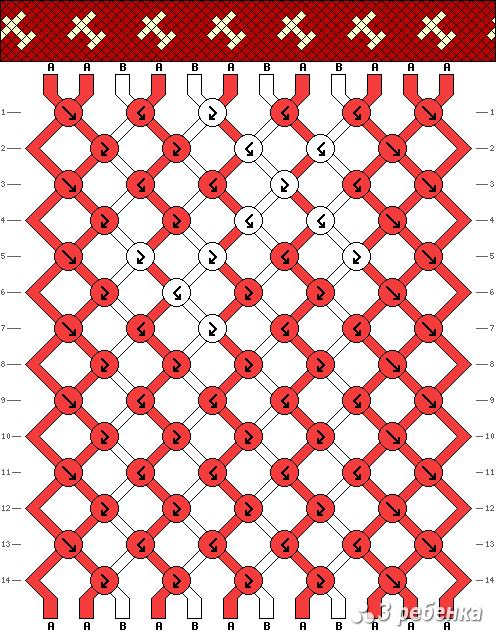Схема фенечки 18120