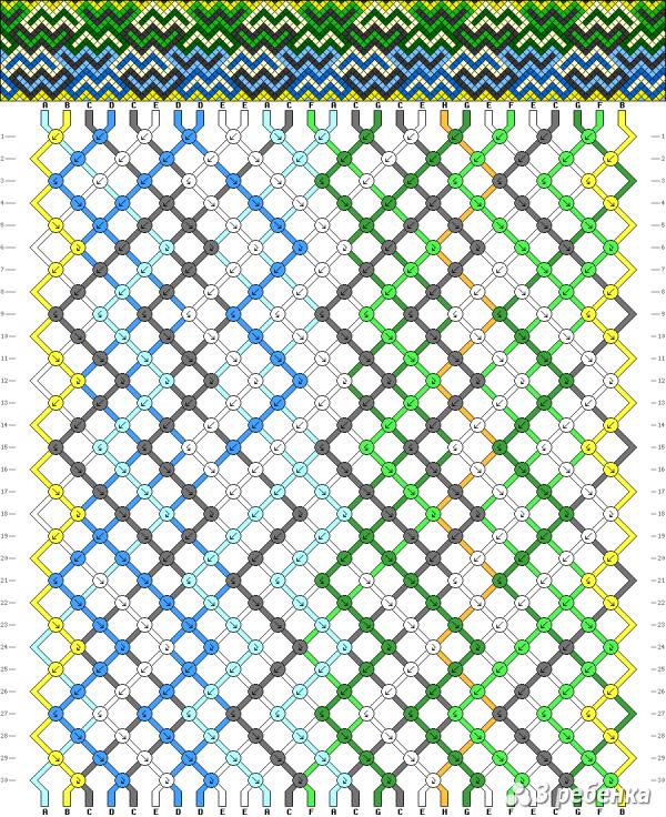 Схема фенечки 17922