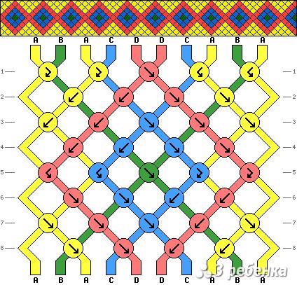Схема фенечки 18033