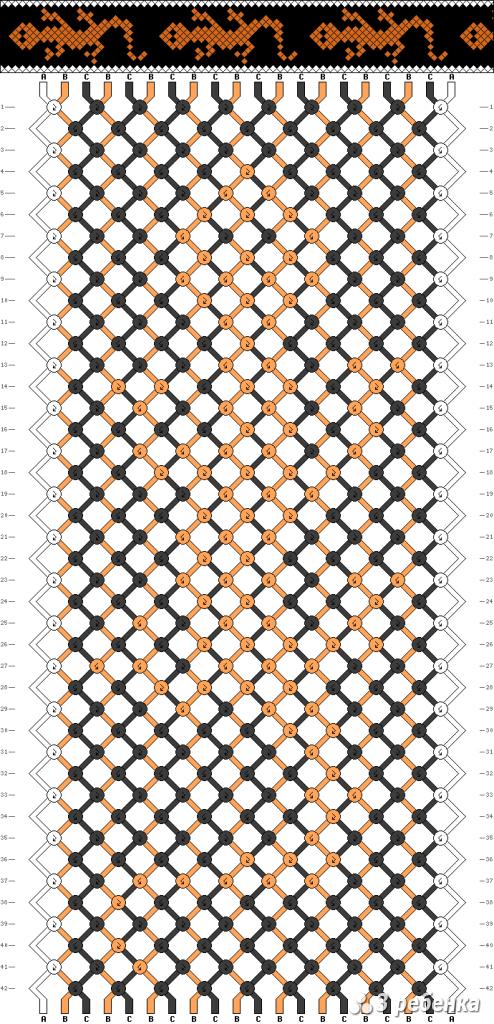 Схема фенечки 18059