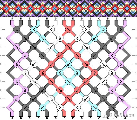 Схема фенечки 17902