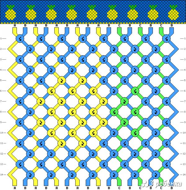 Схема фенечки 18093