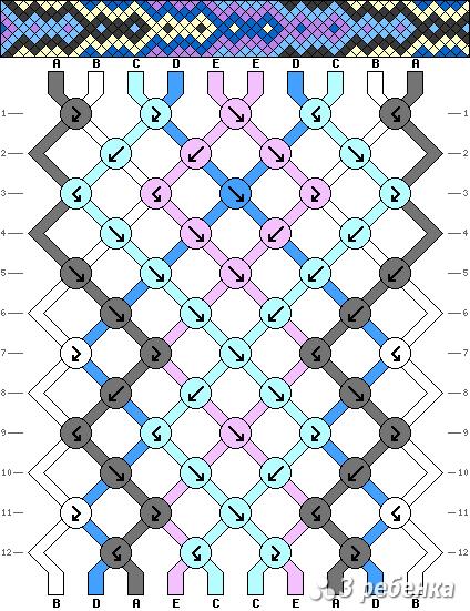 Схема фенечки 18154
