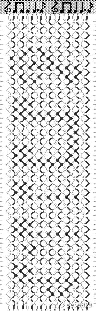 Схема фенечки 19207