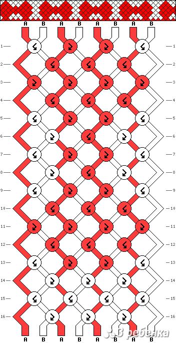 Схема фенечки 19212