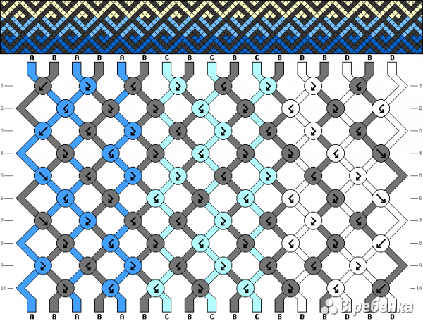 Схема фенечки 18143