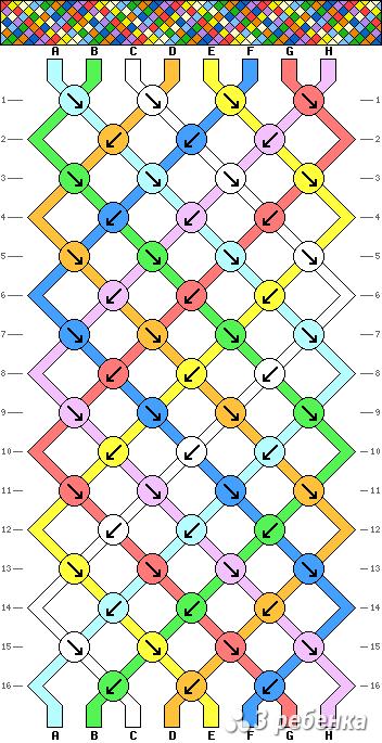 Схема фенечки 17894