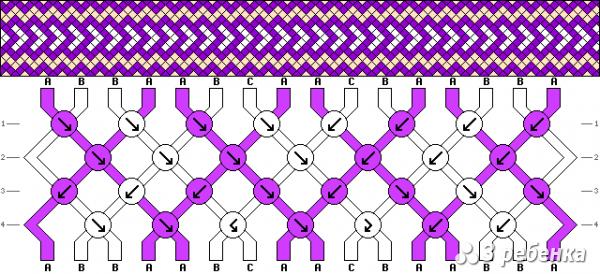 Схема фенечки 19567