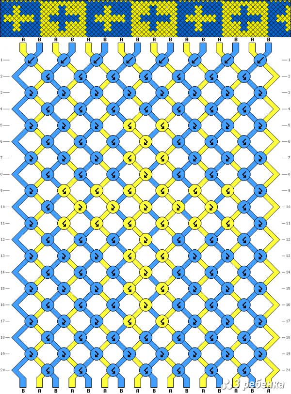 Схема фенечки 19579
