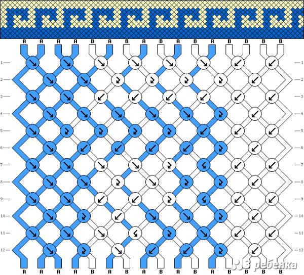 Схема фенечки 19758