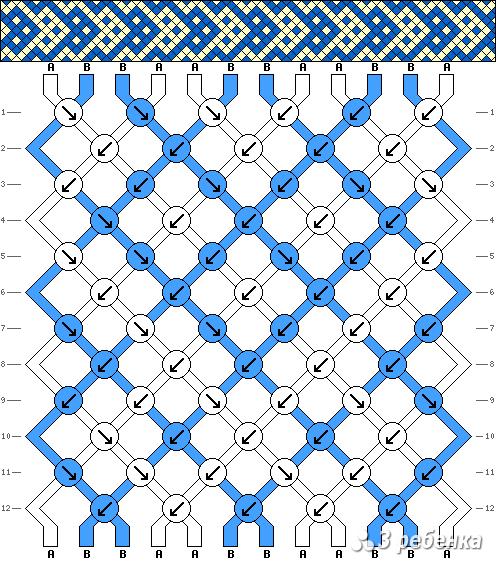 Схема фенечки 19530