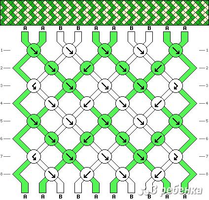 Схема фенечки 19667