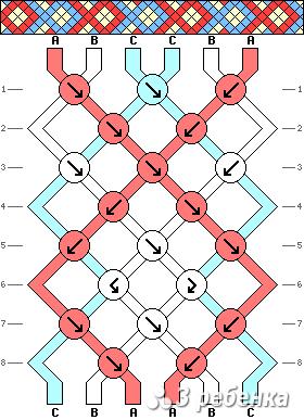 Схема фенечки 19799