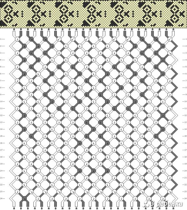 Схема фенечки 19663