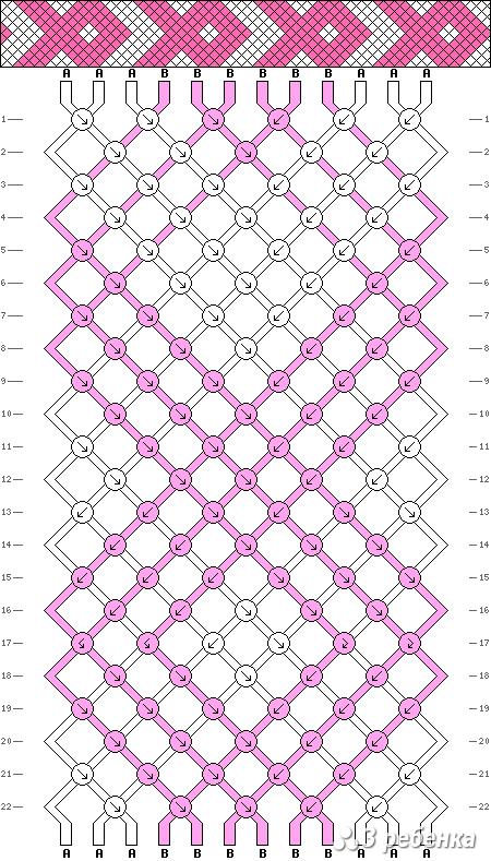 Схема фенечки 19594