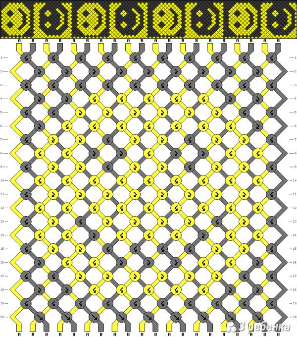 Схема фенечки 19551