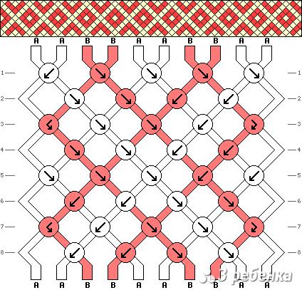 Схема фенечки 19693