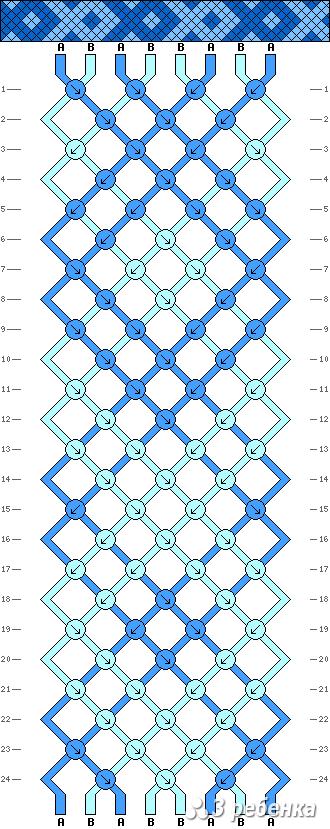 Схема фенечки 19513