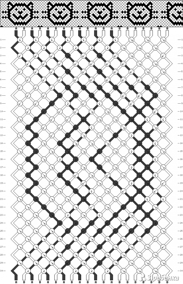 Схема фенечки 19731