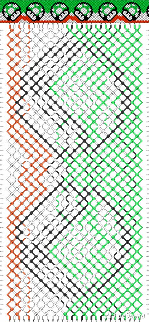 Схема фенечки 19439