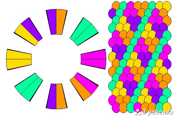 Схема фенечки кумихимо 20452