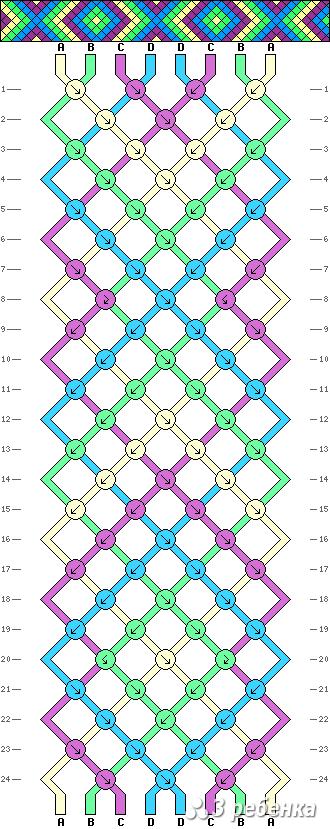 Схема фенечки 19848