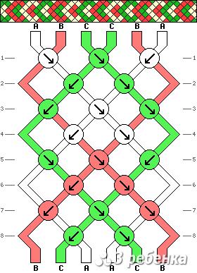 Схема фенечки 19706