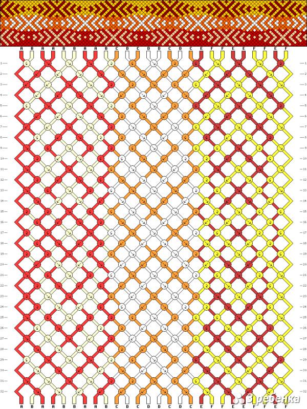 Схема фенечки 19713