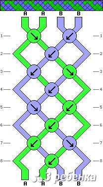 Схема фенечки 19629