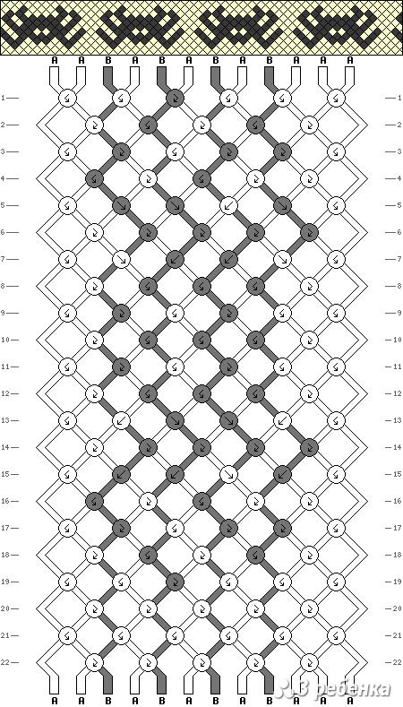 Схема фенечки 19763