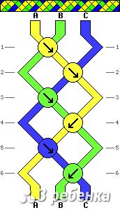 Схема фенечки 19229