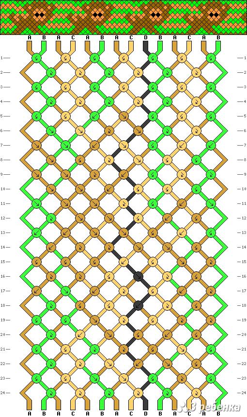 Схема фенечки 19699