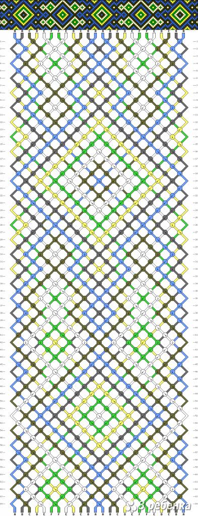 Схема фенечки 19249