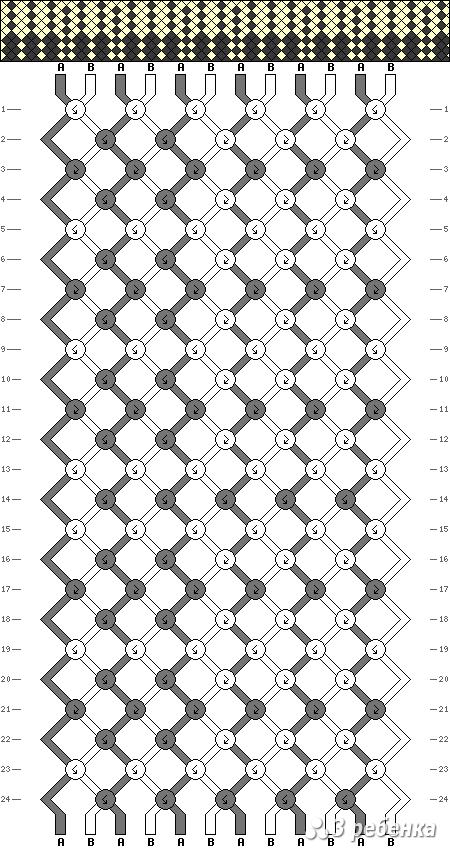 Схема фенечки 19615