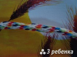 Схема фенечки кумихимо 20525