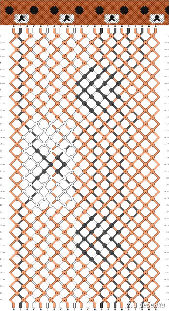 Схема фенечки 19639