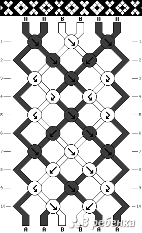 Схема фенечки 19753