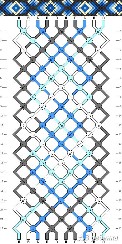 Схема фенечки 19673