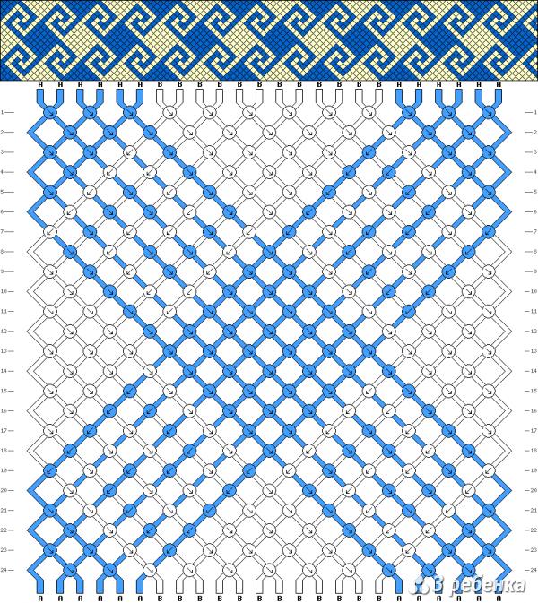 Схема фенечки 19507